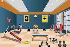 Игра Игра Декор спортивного зала