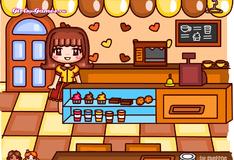 Работа в кофейне