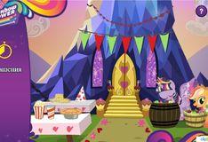 Игра Игра Праздник в королевстве принцессы Твайлайт Спаркл