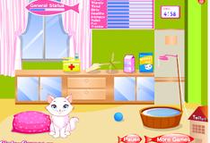 Игра Ежедневная рутина очаровательного котенка