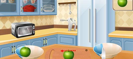Игра Кулинарный класс Сары: Фруктовый коблер