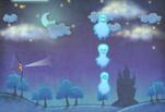 играйте в Замок с призраками