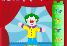 Игра Наряд для смешного клоуна