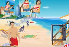 Игра Фото на пляже Майами