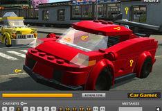 Игра Игра Лего автомобили: Найдите ключи