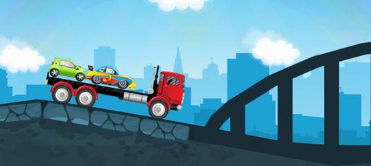Игра Автомобильный транспортер 2