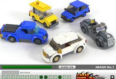 Игра Игра Лего: Скрытые автомобильные колеса