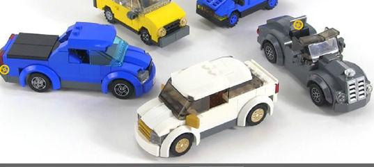 Игра Лего: Скрытые автомобильные колеса