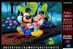 Игра Игра Микки Друзья ищут алфавит