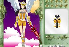 Игра Игра Одевалка - Ангел сражения