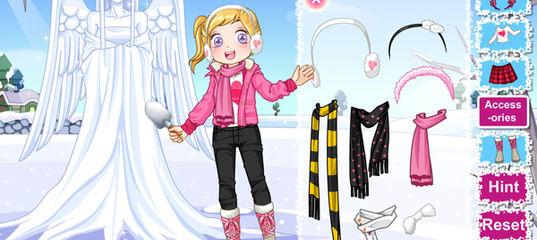 Игра Милый снежный ангел