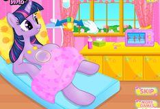 Игра Май Литл Пони: Сумерки Беременная пони