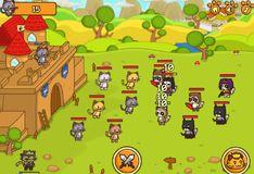 Игра Игра Ударный отряд котят 3 - с читом: Последняя битва