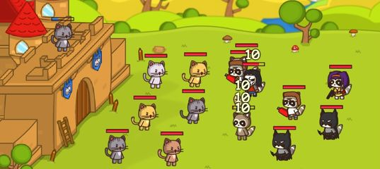 Игра Ударный отряд котят 3 - с читом: Последняя битва