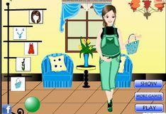 Игра Игра Беременная мама