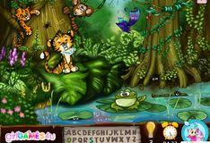 Игра Игра Скрытый алфавит В джунглях