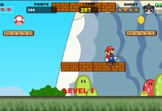 Игра Марио на Родине