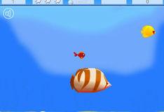 Игра Игра Приключения маленькой рыбки