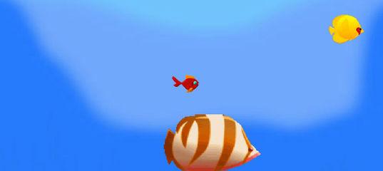 Игра Приключения маленькой рыбки