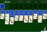 Играть бесплатно в Игра Пасьянс Паук 2