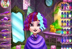 Игра Игра Прическа для Королевы Рейвен