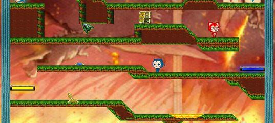 Игры на двоих: Огонь и вода 7: Кот огонь и кошка вода