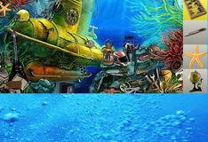 Игра Игра Поиск предметов: Цветные рыбки