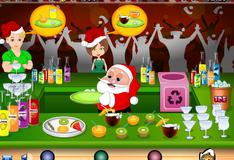Игра Коктейль бар Санта Клауса