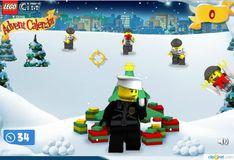 Игра Игра Лего Сити Рождественский календарь - Защита Подарков