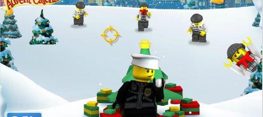 Игра Лего Сити Рождественский календарь - Защита Подарков
