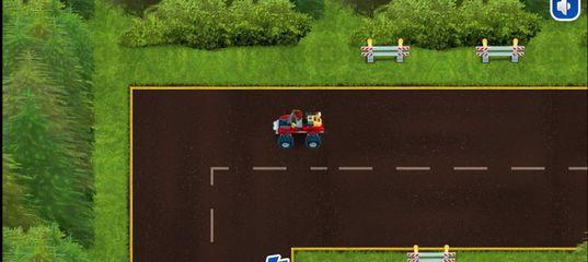 Игра Лего Сити Гонка по Лесу