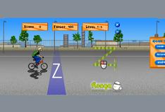 Игра Трюки на велосипеде