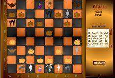 Игра Игра Шахматы в стиле Хэллуина