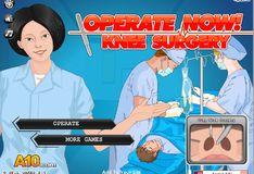Игра Игра Операция на колене