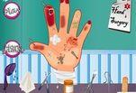 Играть бесплатно в Игра Операция на руке