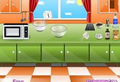 Бетти готовит печенье