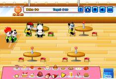 Игра Игра Ресторан Панды