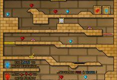 Игра Игра Огонь и Вода 2: Светлый Храм