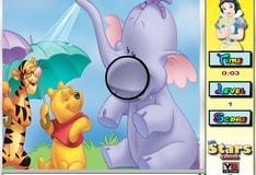 Игра Цифры на фото с персонажами мультфильмов Дисней