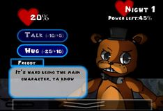 Игра Игра 5 Ночей С Фредди: 5 ночей любви - Знакомство