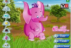 Игра Слон переодевается