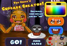 Игра Игра 5 Ночей С Фредди: Игрушка Чика - Создание кексов!