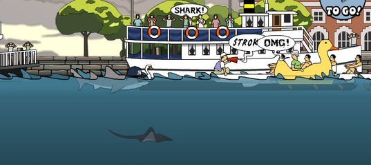 Игра Акула убийца