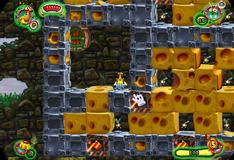Игра Охота на сыр и на жуков