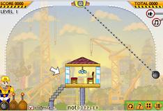 Игра Разрушитель зданий
