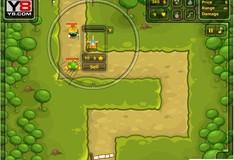 Игра Игра Защита башни от инопланетян