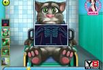 Играть бесплатно в Игра Лечение кота Тома