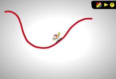 Игра Игра Кик Бутовский - Нарисуй дорогу для скейта