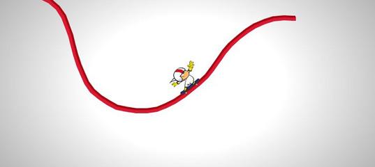 Игра Кик Бутовский - Нарисуй дорогу для скейта