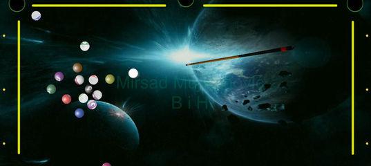 Игра Космический бильярд